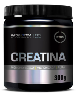Creatina Pura Pote 300 Gr - Probiótica