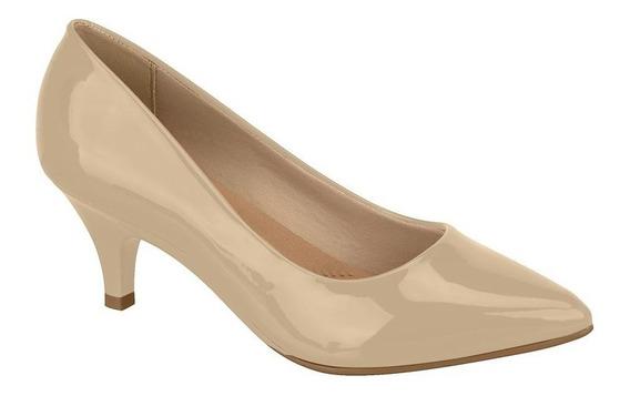 Sapato Scarpin Beira Rio Conforto Salto 4cm Ref 4076150