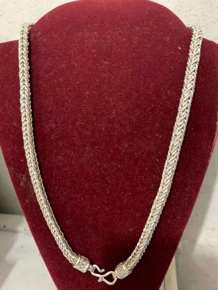 Cordão De Prata 925 Indiano 75gr