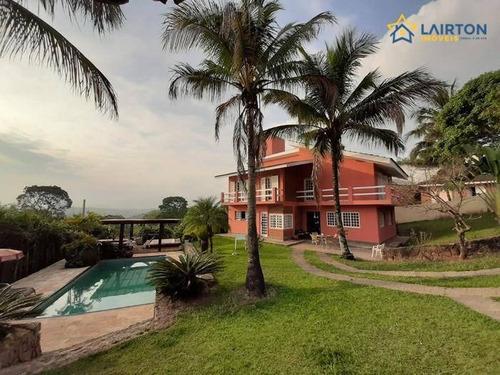 Casa Residencial À Venda, Jardim Paulista, Atibaia - Ca0753. - Ca0753