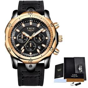 Relógio Masculino Lige Importado Luxuoso Social - Promoção