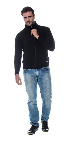 Blusa Tricot Gola Alta Mousse Masculino Ref. 21