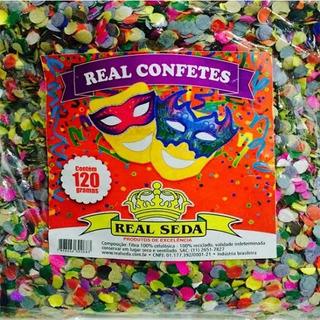 15 Pacote Confete Decoração P/ Festas Carnaval- 120 Grs Cada