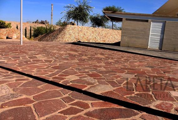 Piedra Laja Porfido Para Vialidad (minimo 100 M2)