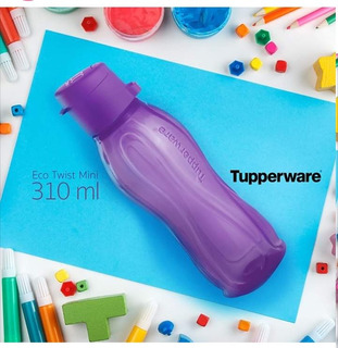 Botella De Agua Ecotwist Mini Tupperware 310ml Morado