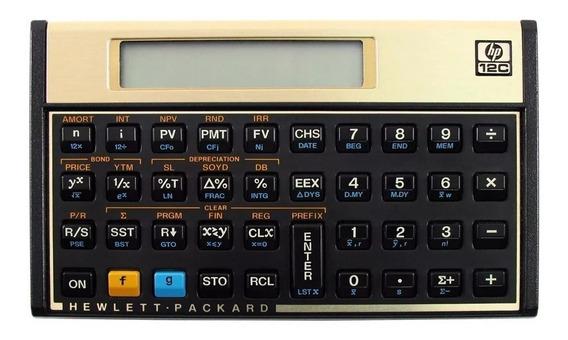 Calculadora Financeira Hp 12c Original Lacrada Pt-br