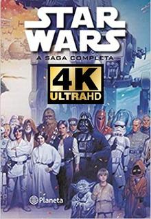 Star Wars - Saga Completa ( Calidad 4k ) 12 Peliculas