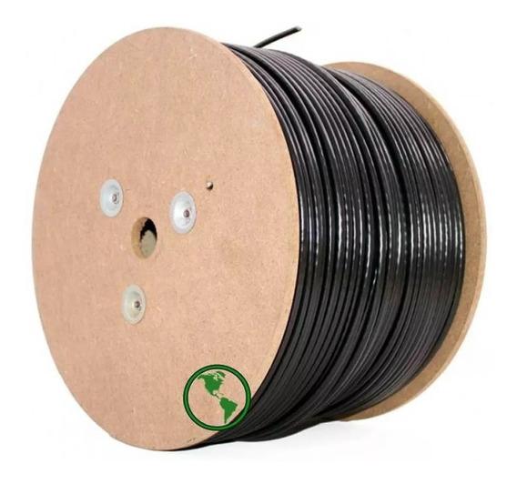 Cable Red Exterior Utp Caja Rollo Bobina Cat5e Excelente 305