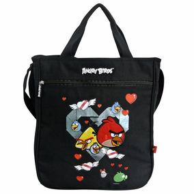 Bolsa Feminina Angry Birds Transversal Santino Abb500201