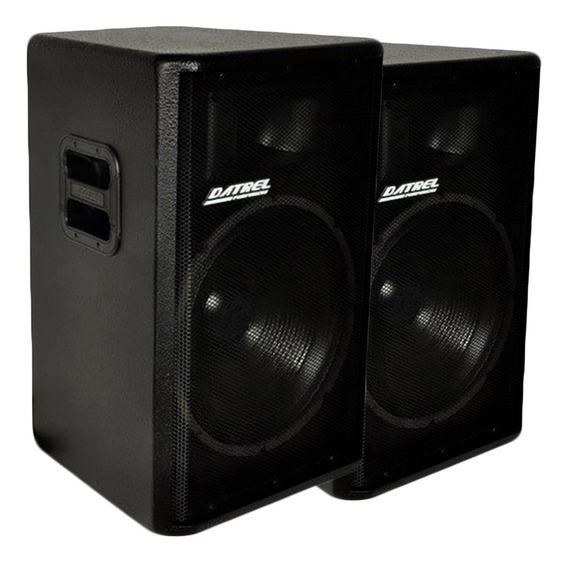 Kit Ativa Af 15 300 Bluetooth + Acústica 15 - Som S/ Ruído