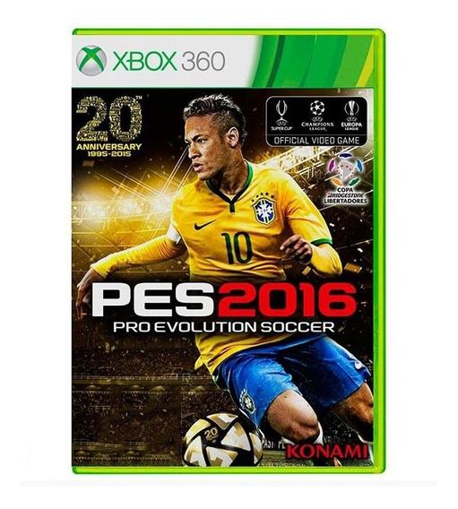 Pro Evolution Soccer 2016 - Pes 16 - Xbox 360 - Usado