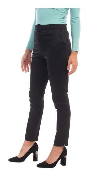 Pantalón De Vestir De Cotton Satén Mia Loreto Modelo Haring