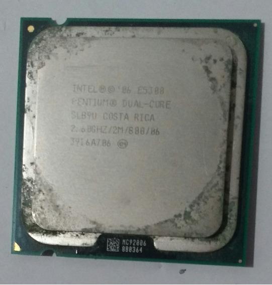 Processador Intel Pentium Dual Core E5300 2.60ghz/2m/800/06