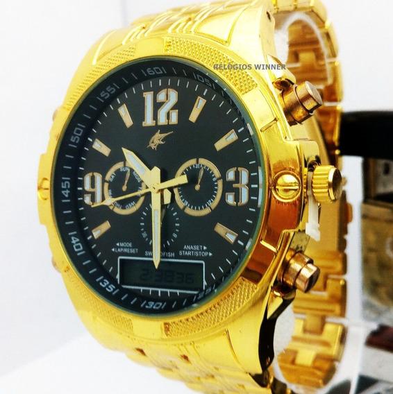 2 Relógios Saint Siberian Goldman Original Dual Time