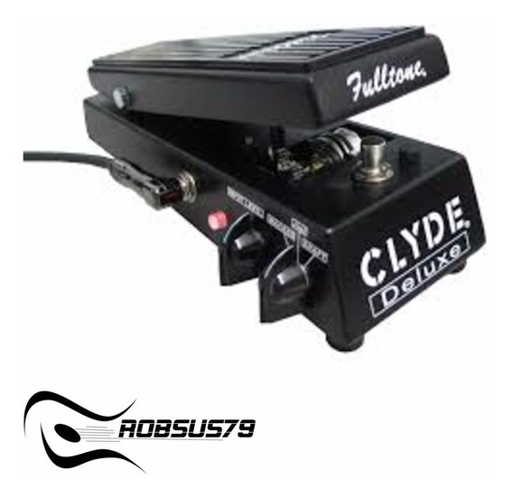 Pedal Fulltone Clyde Deluxe Wah C/ Nota Fiscal E Garantia