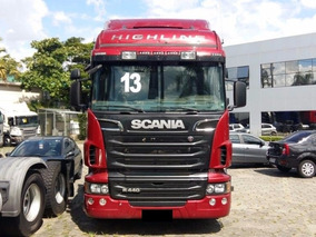 Scania R 440 6x4 Opticruise Ano 2012