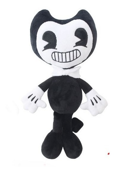 Boneco Bendy And The Ink Machine / Alice/ Boris Grande 45cm