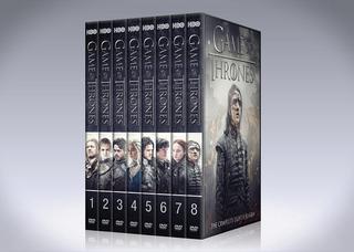 Game Of Thrones Dvd / Temporadas Completas - 8 Temporadas