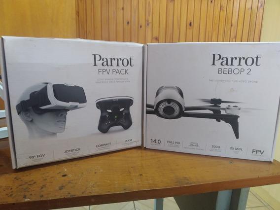 Drone Parrot Bebop 2 Com Skycontroller 2