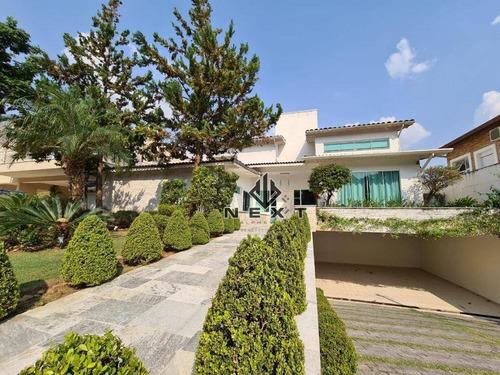 Imagem 1 de 30 de Casa Com 4 Dormitórios À Venda, 532 M² Por R$ 2.100.000,00 - Alphaville - Santana De Parnaíba/sp - Ca0729