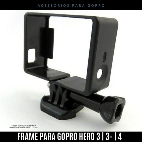 Gopro Suporte Armação Go Pro Moldura Frame Hero 3 The Frame