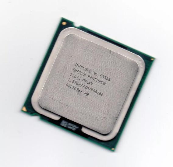 Processador Intel Dual Core E5500 2.80ghz Lga 775 Testado!