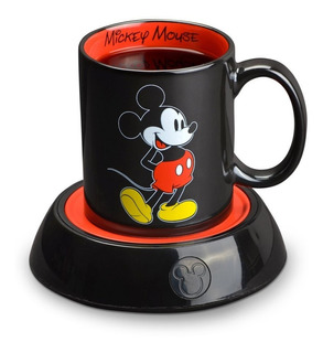 Taza De Mickey Mause Para Cafe Con Calentador De 10 Onzas