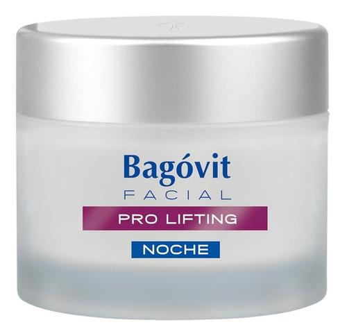 Imagen 1 de 6 de Bagóvit Pro Lifting Crema Facial Noche Antiedad Antiarrugas