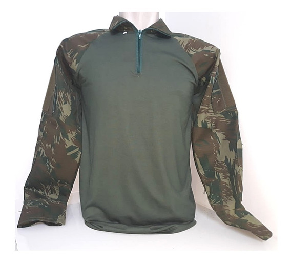 Camisa Combat Shirt Fuzileiros Navais Gandoleta + Brinde