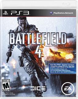 Seminuevo Battlefield 4 Ps3