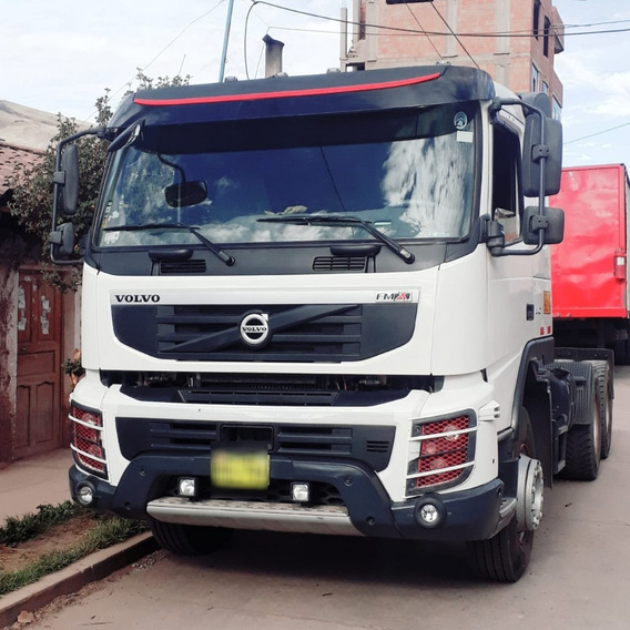Cusco Vendo Tracto Volvo Fmx 440 2014 5300 Horas