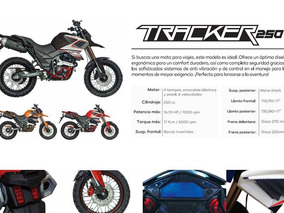 Motocicleta Axxo Tracker 250 Full 1500km