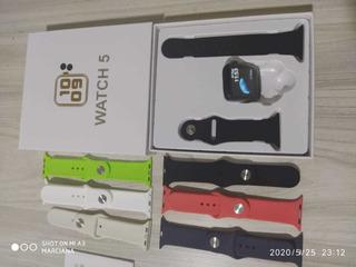 Iwo 8 Pro Relógio Inteligente Faz E Recebe Ligação Lacrado