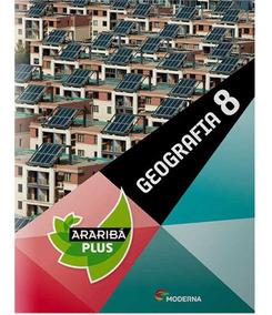 Livro: Projeto Araribá Plus Geografia 8º Ano - 4ª Edição