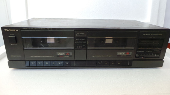 Tck Technics Stereo Double Cassete Deck Rs T19