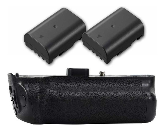 Battery Grip Dmw-bggh5 Para Panasonic Dmc-gh5 + 2 Baterias