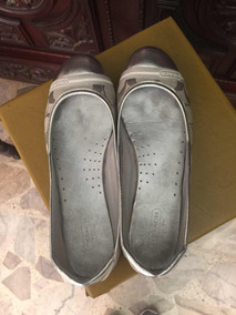 Flats Coach Color Plata