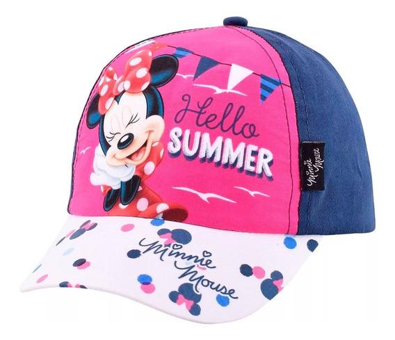 Gorro Minnie Disney Original Línea Premium Lic Footy