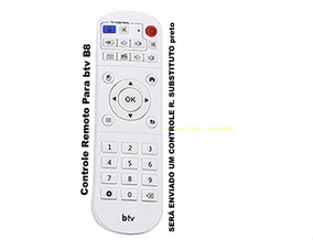 Controle Remoto P/ Receptor Android Btv B8