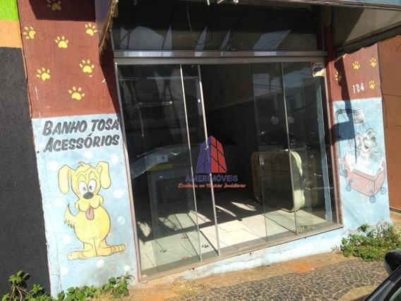 Sala Comercial Para Locação, Vila Nossa Senhora De Fátima, Americana. - Sl0015