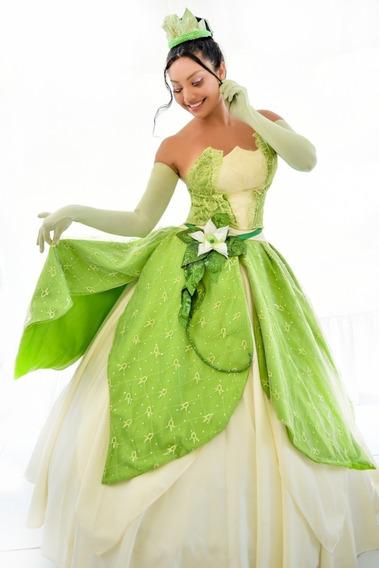 Tiana Cosplay Disney Adulto