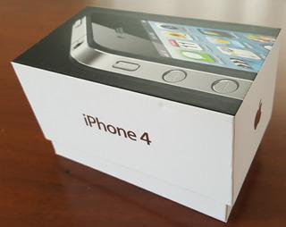 iPhone 4 8gb Preto Com Capa Protetora Usado