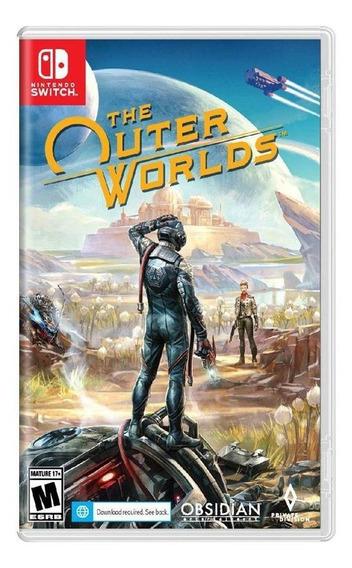 The Outer Worlds Switch Mídia Física Novo Lacrado