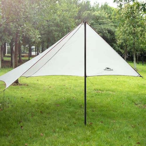 Varilla Poste Aluminio Soporte Tarp Lona Camping Naturehike