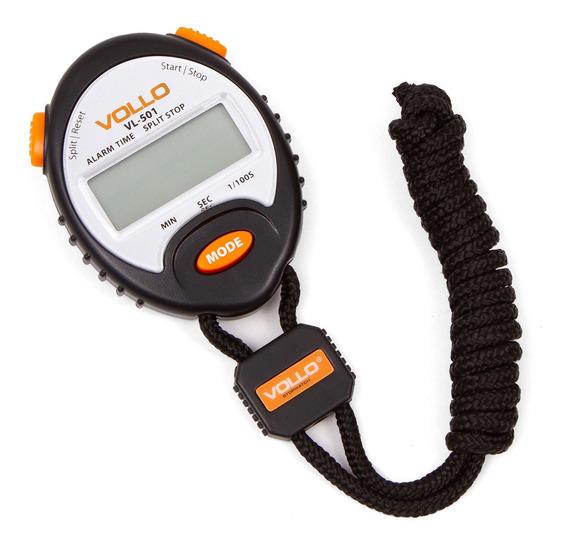 Cronômetro Profissional C/ Alarme E Relógio Vollo Vl-501