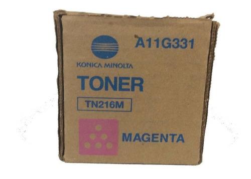 Imagen 1 de 2 de Toner Konica Minolta Tn216m Magenta Bizhubc 220/280 Original