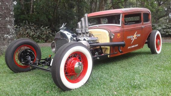 Ford Victoria 1930 Rat Rod Top
