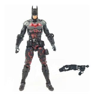 Batman Arkham Knight Figura 19cm + Arma! Articulado Loose