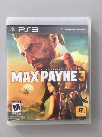 Max Payne 3 Ps3 Midia Fisica Ps3