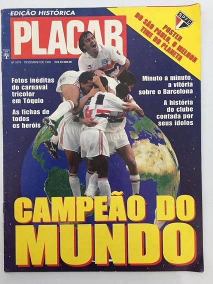 Revista Placar Edição Histórica São Paulo Campeão Do Mundo